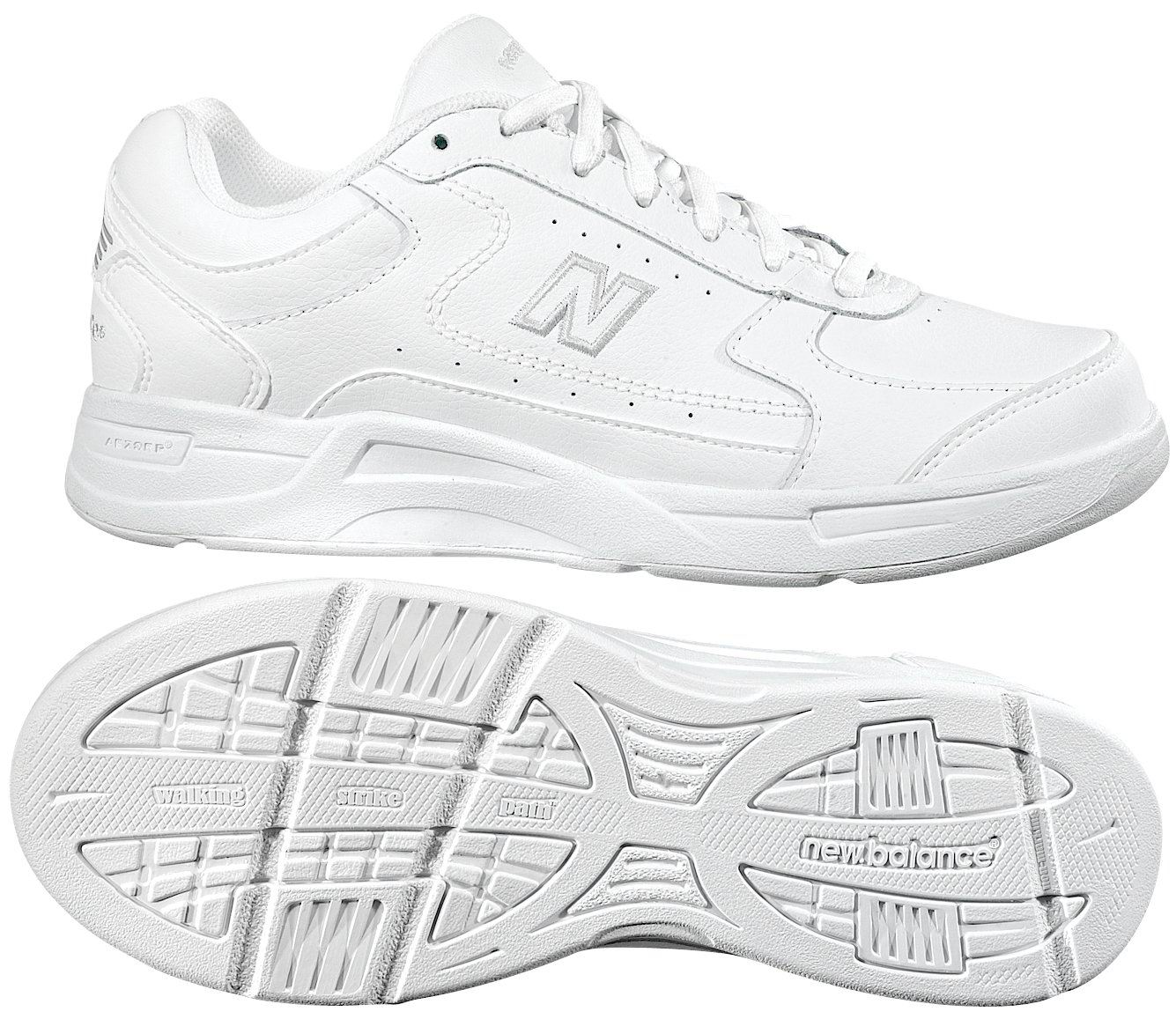 white new balance shoes